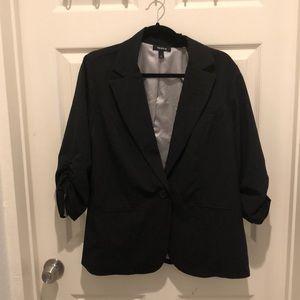 Torrid touched sleeve blazer